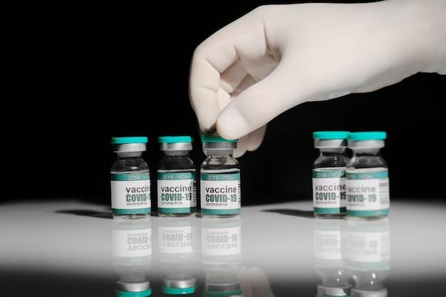 Vaccin contre le coronavirus vaccin expérimental contre le coronavirus covid19 en laboratoire