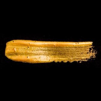 Vague brillante de paillettes dorées