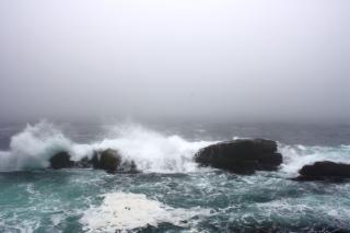 Vagues de freinage, une tempête