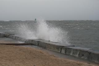 Vagues de l'océan, des vagues, les conditions météorologiques
