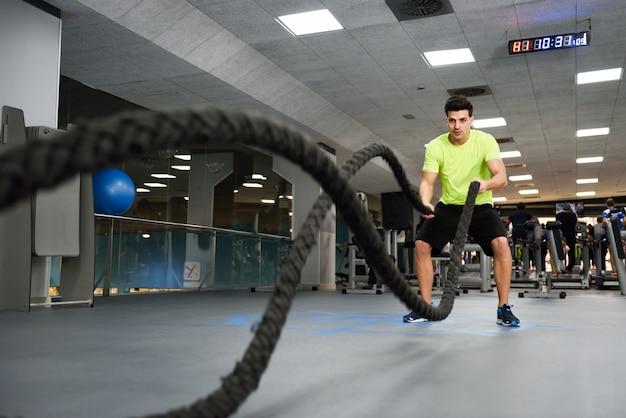 Vagues de remise en forme exercice de la santé du sport
