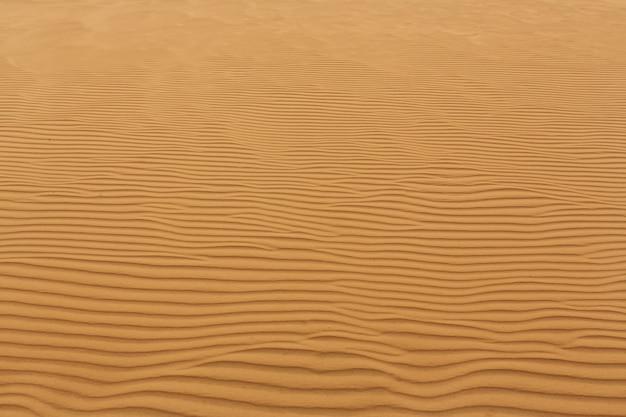 Vagues de sable texture dunes du désert
