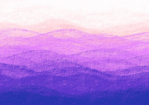 Vagues violettes dans un mur