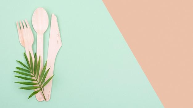 Vaisselle et feuilles biodégradables zéro déchet