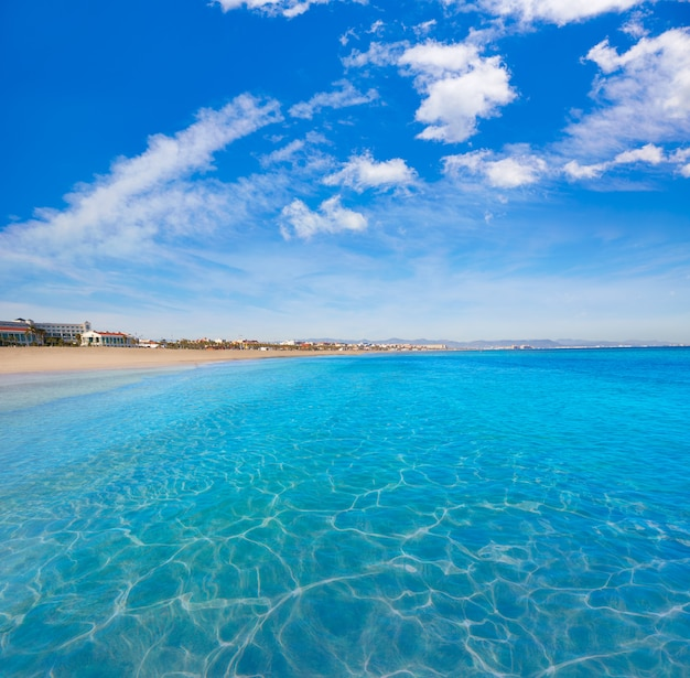 Valencia malvarrosa beach las arenas espagne