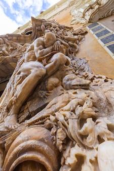 Valencia palacio marques de dos aguas façade du palais