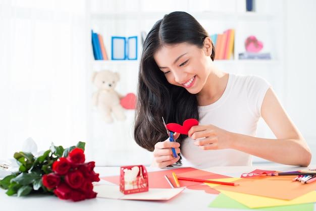 Valentine cartes de voeux