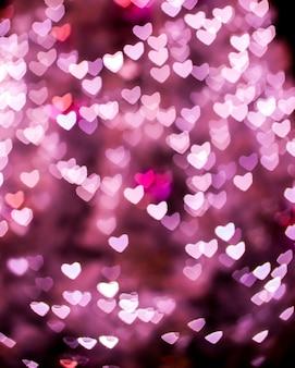 Valentine coeur bokeh