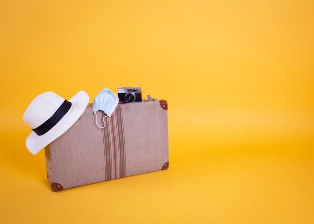 Valise pour masque chirurgical, voyage, vols annulés par covid-19