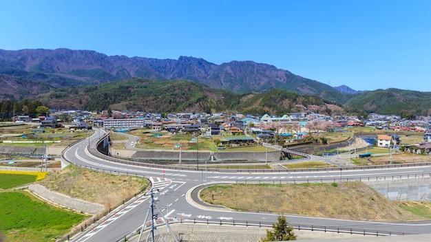 Vallée au japon