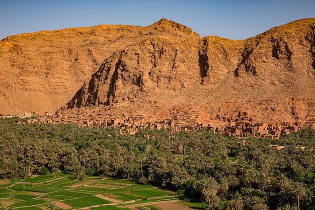 Vallée du dades à marrakech, maroc