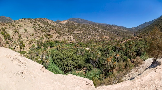 Vallée d'imouzzer près d'agadir au maroc