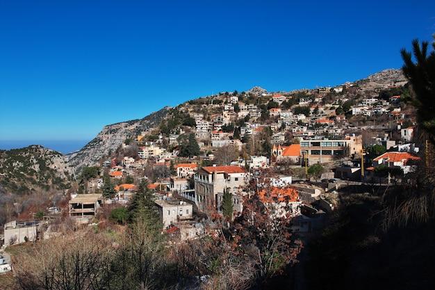 Vallée de kadisha dans les montagnes du liban