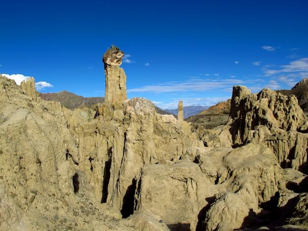Vallée de la lune, la paz, bolivie