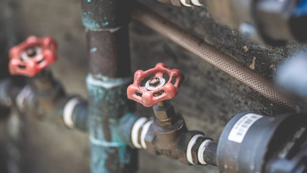 Vanne d'eau industrielle
