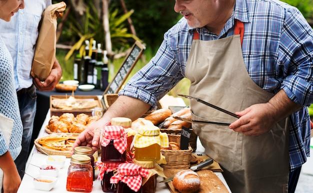 Variation de la pâtisserie artisanale