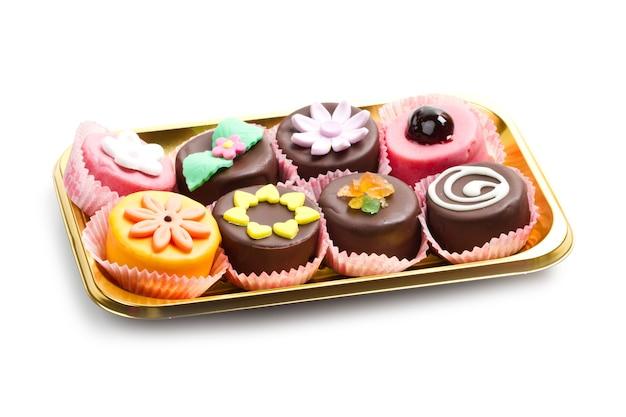 Variété de dessert sicile cassate