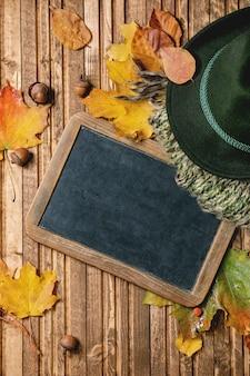 Variété de feuilles d'automne