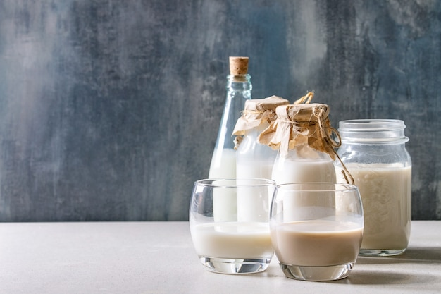 Variété de lait non laitier