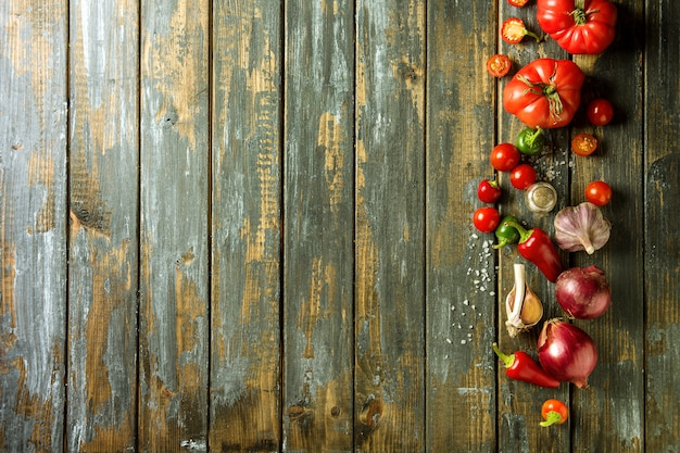 Variété de légumes