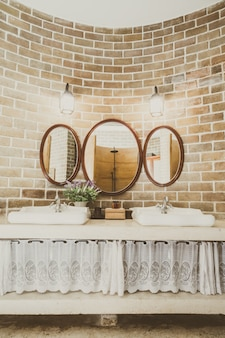 Vasque decor fenêtre de luxe