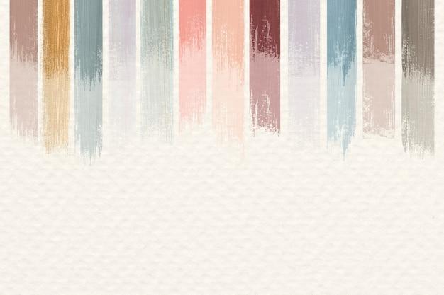 Vecteur de fond abstrait acrylique pastel
