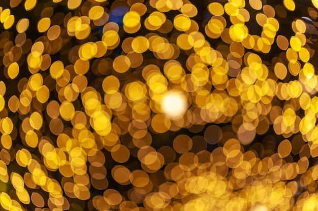 Veilleuse bokeh coloré abstrait arrière-plan flou lens flare réflexion