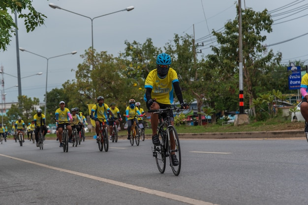 Vélo un ai rak cyclisme