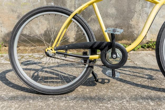 Vélo dans la rue