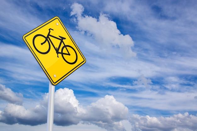 Vélo de rendu 3d autorisé signe