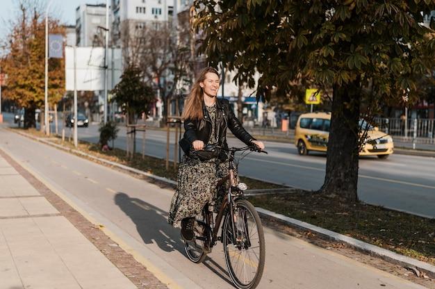 Vélo ville vie longue vue