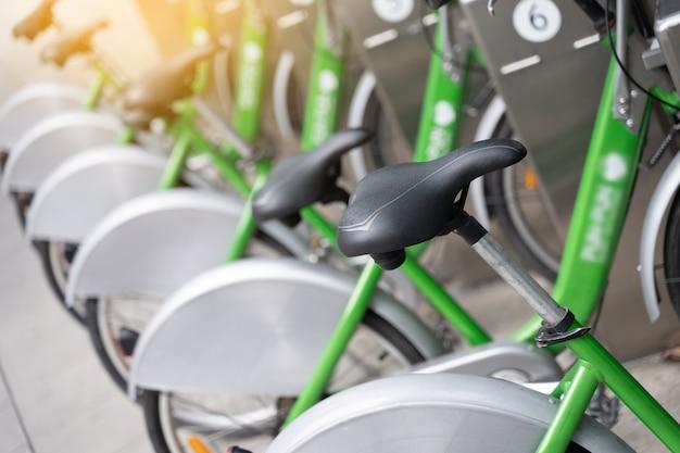 Vélos intelligents locaux garés mobike vélo intelligent