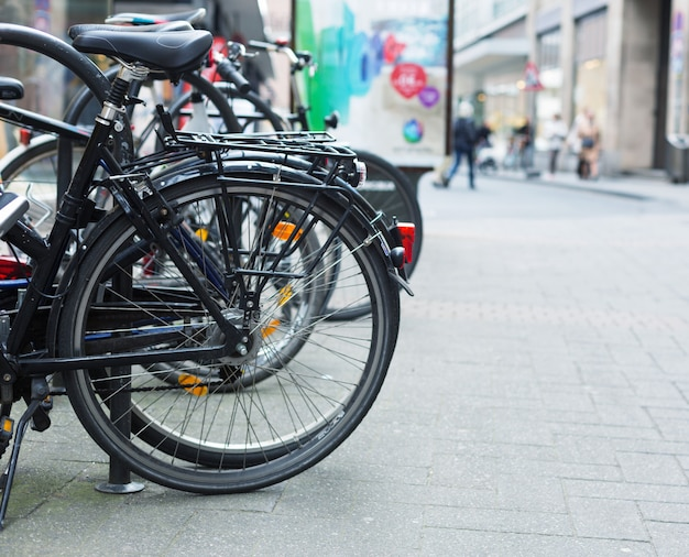 Vélos sur rue