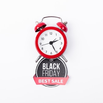 Vendredi noir meilleure vente avec réveil