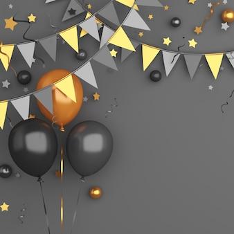 Vendredi noir vente ballons décoratifs