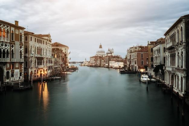 Venise italie et basilique santa maria della salute