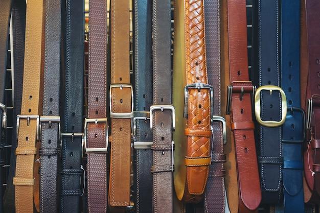 Vente de ceintures pour jeans et pantalons