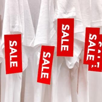Vente étiquette rouge. offre de magasinage au meilleur prix. bannière de signe de promotion de la réduction de la vente.