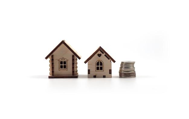 Vente immobilier petites maisons jouet en bois
