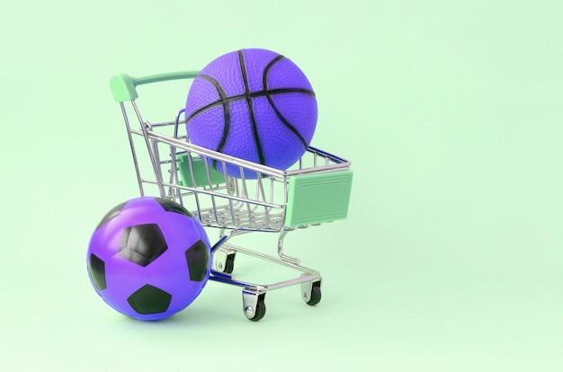 Vente de matériel de sport. prévisions pour les matches. les paris sportifs