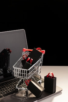 Ventes d'achats du cyber monday