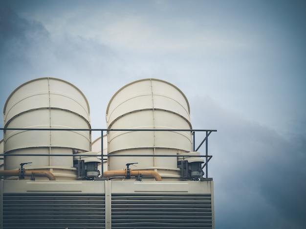 Vents le système de refroidissement pour le bâtiment de grande hauteur