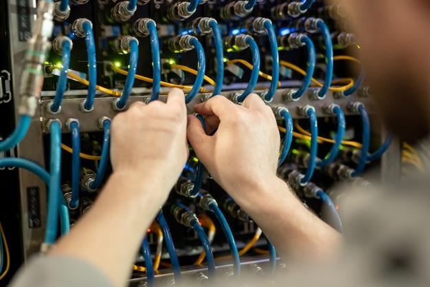Vérification des câbles du tableau