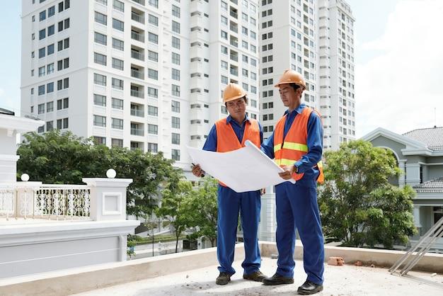 Vérification du plan de construction