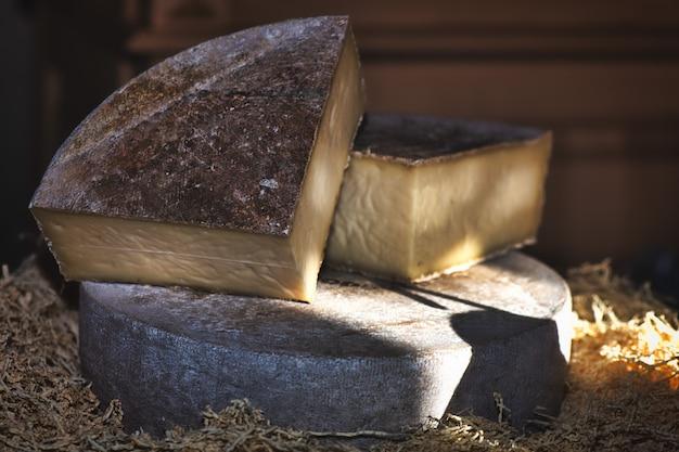 Véritable fromage des montagnes italiennes