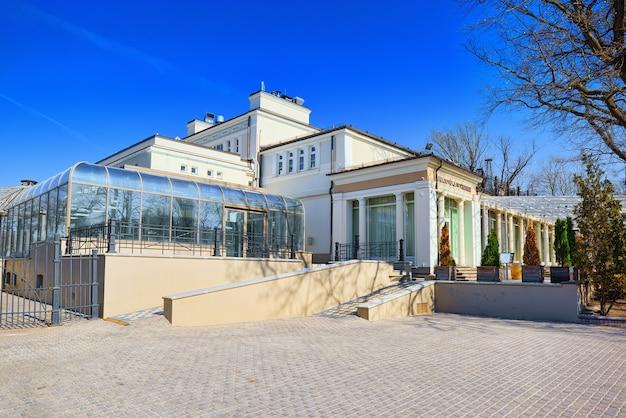 Vermanskiy park est le plus ancien parc de la ville de riga lettonie