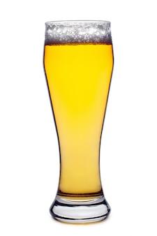 Verre à bière isolé