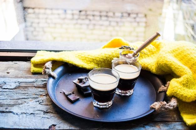 Verre de café expresso