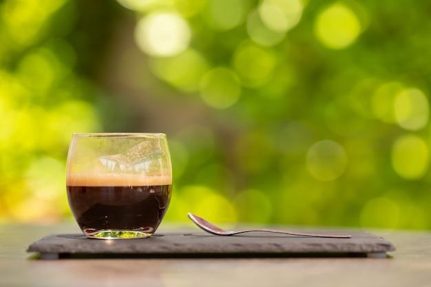 Verre de café