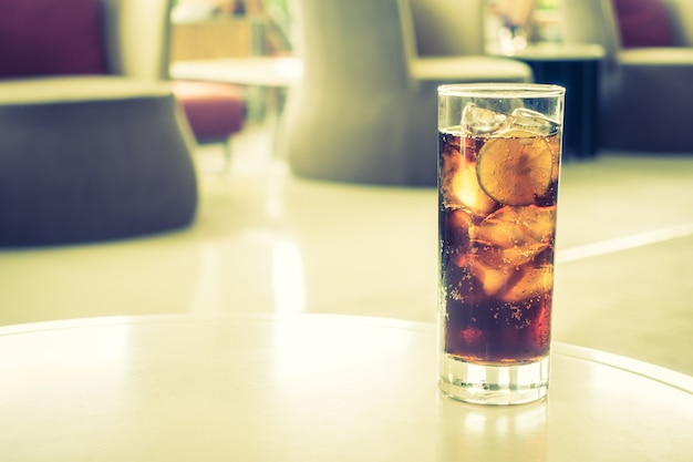Verre coke